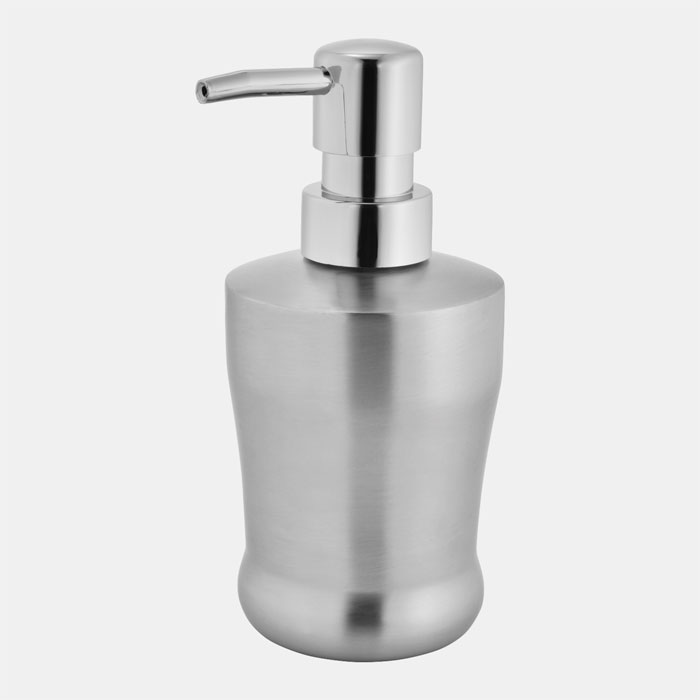 MATT SOAP/SANITIZER BOTTLE DISPENSER